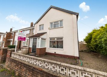 Thumbnail 4 bed end terrace house for sale in Swinburne Road, Hartlepool
