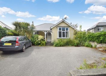 Thumbnail 3 bed detached bungalow for sale in Park Crescent, Falmouth