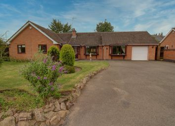 Thumbnail 4 bed bungalow for sale in Leicester Road, Sharnford, Hinckley