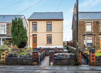 Thumbnail 3 bed detached house for sale in Crymlyn Road, Skewen, Neath
