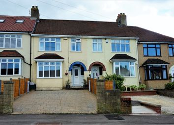 Thumbnail 3 bed terraced house for sale in Oakfield Road, Kingswood