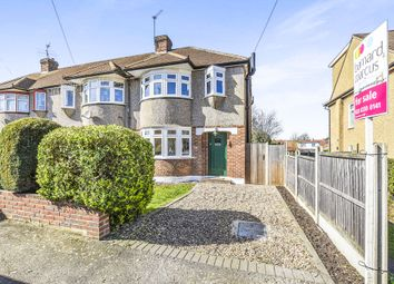 Thumbnail 3 bed end terrace house for sale in St. Philips Avenue, Worcester Park