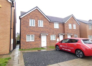 Thumbnail 3 bed terraced house to rent in Spiro Court, Consett