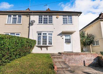 Thumbnail 3 bed semi-detached house for sale in Leechcroft Avenue, Swanley