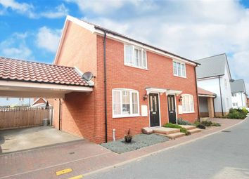 Thumbnail 2 bed semi-detached house for sale in Cross Road, Clacton-On-Sea