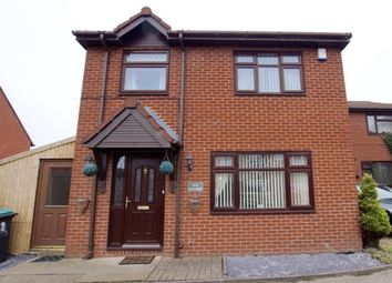 Thumbnail 3 bed detached house for sale in School Lane, Ponciau, Wrexham