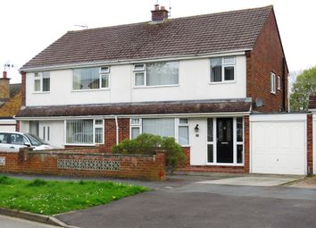 Thumbnail 3 bed semi-detached house for sale in Sandringham Road, Swindon