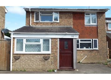 Thumbnail 4 bed detached house for sale in Tiltwood Drive, Crawley