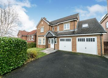 Thumbnail 4 bed detached house for sale in Younghall Close, Greenside, Ryton, Tyne And Wear