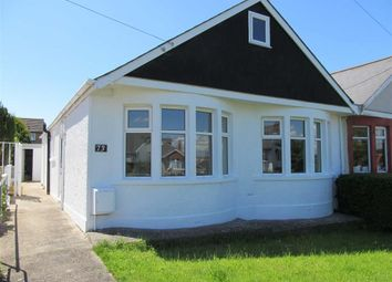 Thumbnail 2 bed semi-detached bungalow to rent in Pontypridd Road, Barry, Vale Of Glamorgan