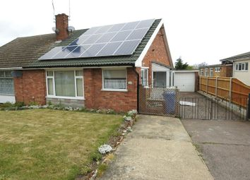 Thumbnail 2 bedroom semi-detached bungalow for sale in Homefield Avenue, Lowestoft