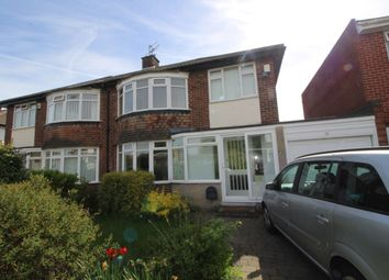 Thumbnail 3 bed semi-detached house to rent in Montagu Avenue, Newcastle Upon Tyne