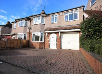 Thumbnail 4 bed semi-detached house for sale in Droylsdon Park Road, Coventry