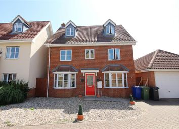 Thumbnail 5 bed detached house for sale in Norfolk Place, Chafford Hundred, Grays