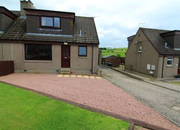 Thumbnail 3 bed semi-detached house for sale in Burnside Avenue, Oldmeldrum