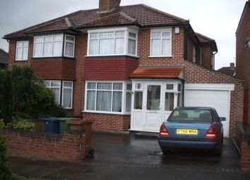 Thumbnail 3 bed semi-detached house to rent in Coledale Drive, Stanmore