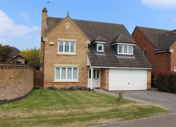 Thumbnail 4 bed detached house for sale in Buzzard Close, Broughton Astley, Leicester