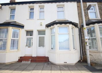 Thumbnail 3 bed terraced house for sale in Woolman Road, Blackpool
