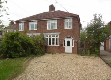 3 bed semi-detached house for sale in Westcliffe Road, Ruskington, Sleaford NG34