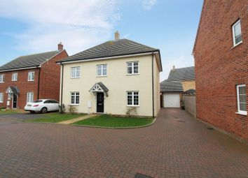 Thumbnail 4 bed detached house for sale in Atherstone Close, Shortstown, Bedford
