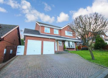 Thumbnail 4 bed detached house for sale in Charnwood Drive, Hartshill, Nuneaton