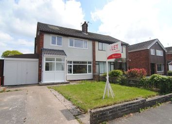 Thumbnail 3 bed semi-detached house to rent in Ingle Head, Fulwood, Preston