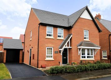 Thumbnail 4 bed detached house for sale in Pentland Road, Ashby-De-La-Zouch