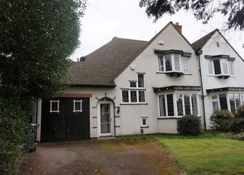 Thumbnail 3 bed semi-detached house for sale in Tamworth Road, Sutton Coldfield