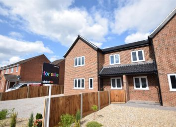 Thumbnail 4 bed semi-detached house for sale in Plot 2 Holt Road, Horsford