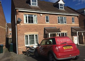 Thumbnail 3 bed end terrace house to rent in Gillquart Way, Parkside, Coventry