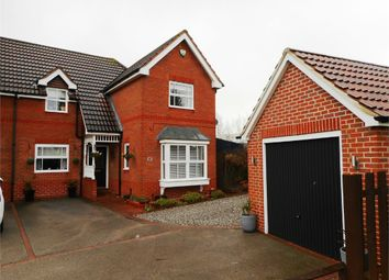 Thumbnail 4 bed semi-detached house for sale in Kingfisher Walk, Gateford, Worksop, Nottinghamshire