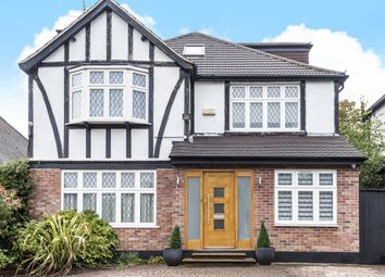 Thumbnail 5 bed detached house to rent in Pangbourne Drive, Stanmore