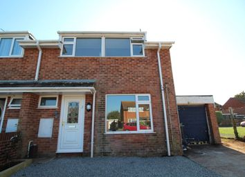 Thumbnail 3 bed semi-detached house to rent in Hooker Close, Budleigh Salterton