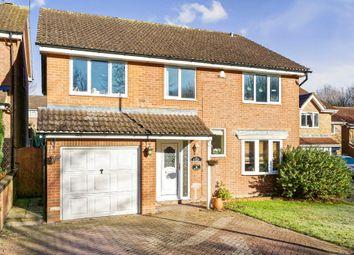 Thumbnail 5 bedroom detached house for sale in Dorrel Close, Basingstoke