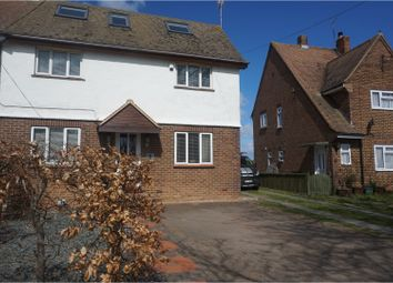 Thumbnail 4 bedroom semi-detached house to rent in The Street, Rochester