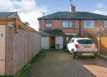 Thumbnail 3 bed semi-detached house for sale in Main Road, Caego, Wrexham, .