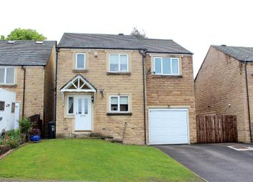 Thumbnail 4 bed detached house for sale in Field Close, Halifax