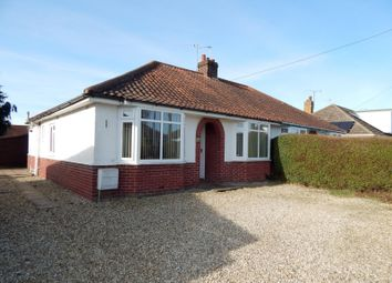Thumbnail 3 bed bungalow to rent in Dennis Road, Hellesdon, Norwich