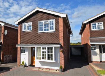 Thumbnail 3 bed detached house for sale in Fairbourne Drive, Mickleover, Derby