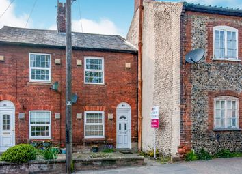 Thumbnail 2 bed end terrace house for sale in Cullum Road, Bury St. Edmunds