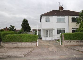 Thumbnail 3 bed semi-detached house for sale in Monica Road, Woolton, Liverpool