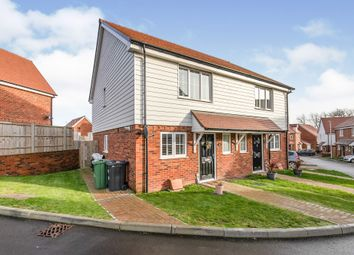 Thumbnail 2 bed semi-detached house for sale in Orchard Lane, Hailsham