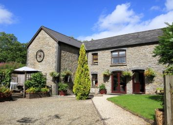 Thumbnail 4 bedroom detached house for sale in Ffarmers, Llanwrda