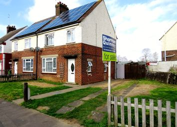 Thumbnail 3 bed semi-detached house for sale in Keeton Road, Peterborough