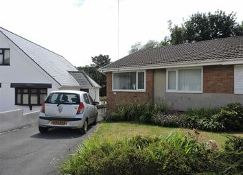 Thumbnail 2 bed semi-detached bungalow for sale in Pine Crescent, Morriston, Swansea