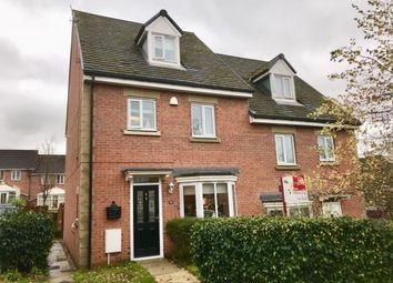 Thumbnail 4 bed semi-detached house for sale in Staley Farm Close, Stalybridge, Cheshire, United Kingdom
