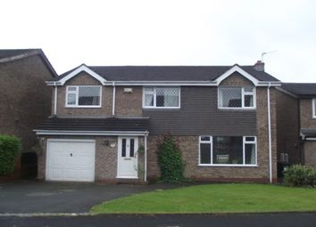 Thumbnail 4 bed detached house to rent in Hornsea Road, Stockport