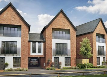 "Thumbnail 4 bed town house for sale in ""The Elm  "" at Berrington Road, Off London Road, Hampton"