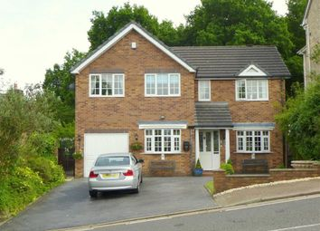 Thumbnail 5 bedroom detached house for sale in Simmondley New Road, Glossop, Derbyshire