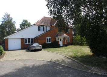 Thumbnail 5 bed detached house for sale in Butterfly Gardens, Ipswich, Suffolk